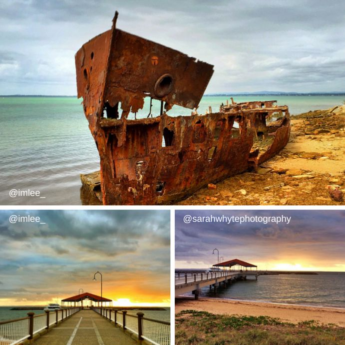 Redclifee sunrise and sunset spots
