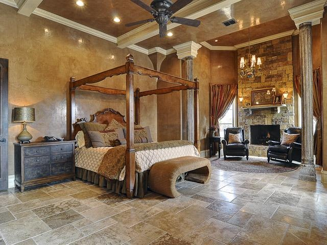 Large Elegant Mediterranean Style With Stone Floor