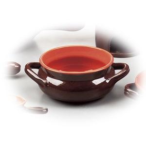 Oala din ceramica cu doua manere din colectia Coccio.