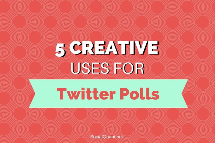 In case the new feature Twitter polls snuck by you, you now havethe opportunity to create a poll on Twitter. Pretty cool, right? The great thing about Twitter polls is that they make it easier than ever for youraudience to respond to your questions. This simple engagement tool will help you kn