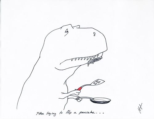 42 Funny Examples Of T-Rex Trying [Gallery] : The Lion's Den University