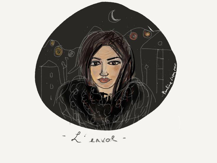 Illustration - l'envol - @ pauline lugon 2015