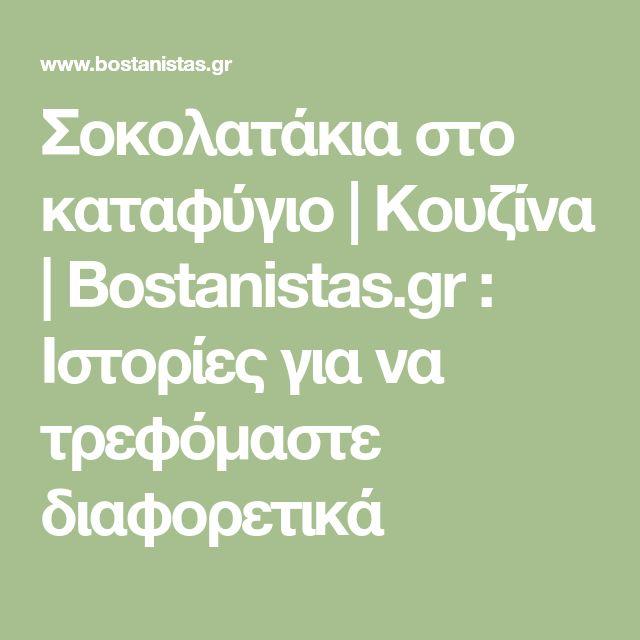 Σοκολατάκια στο καταφύγιο | Κουζίνα | Bostanistas.gr : Ιστορίες για να τρεφόμαστε διαφορετικά