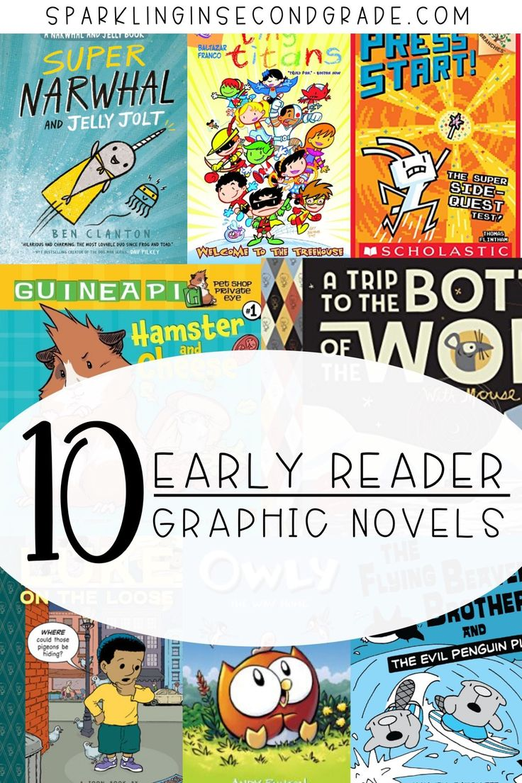 10 graphic novels for beginning readers in 2021 graphic
