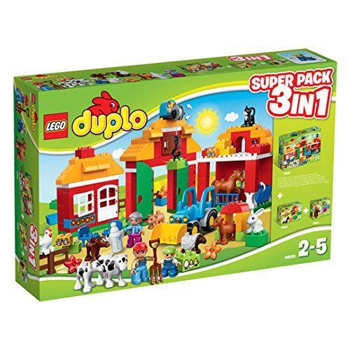 Sale Preis: LEGO DUPLO 66525 Farm Super-Set Superpack 3in1 Set beinhaltet (Lego 10525+10522+10521). Gutscheine & Coole Geschenke für Frauen, Männer & Freunde. Kaufen auf http://coolegeschenkideen.de/lego-duplo-66525-farm-super-set-superpack-3in1-set-beinhaltet-lego-105251052210521  #Geschenke #Weihnachtsgeschenke #Geschenkideen #Geburtstagsgeschenk #Amazon