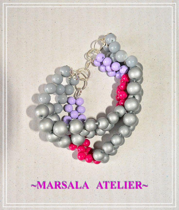 Marsala Elipse Bracelet