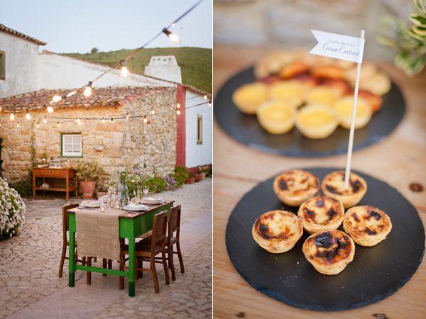 Rural Portuguese Wedding Shoot / Piteira Photography / Ruffled