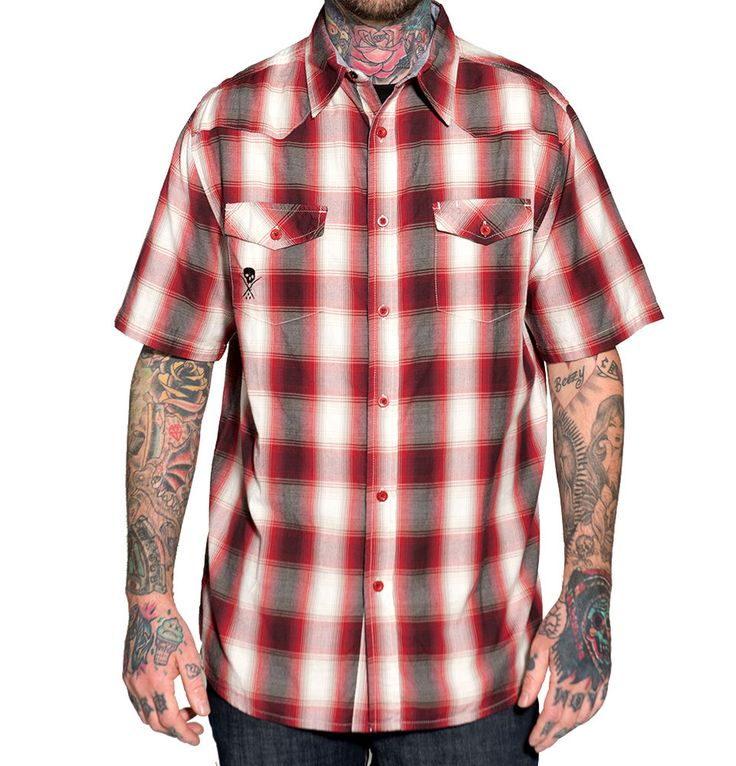 Mens Short Sleeve Cotton Shirt