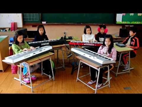 Nujabes-Aruarian dance / Cover by 2nd grade students