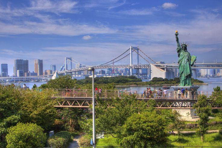 お台場の自由の女神 odaiba_Statue of Liberty (7)