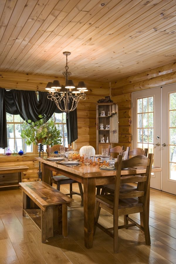 Log Home Photos | Livingstone Home Tour › Expedition Log Homes, LLC