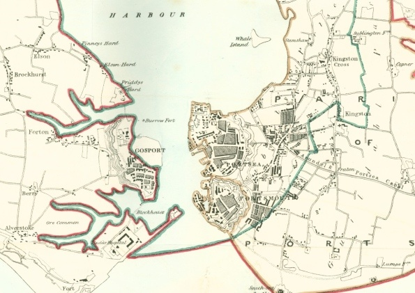 Portsmouth and Gosport in 1883