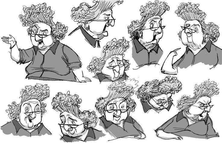 Heidi Smith Character Design Class : Best images about draw fat people on pinterest