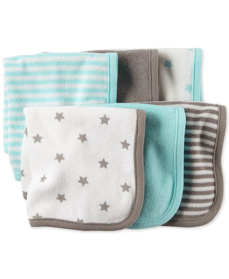 Baby washcloths are great. I