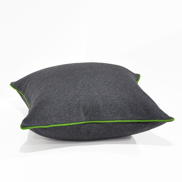 Augustus Armour/Lime Floor Cushion 60x60cm