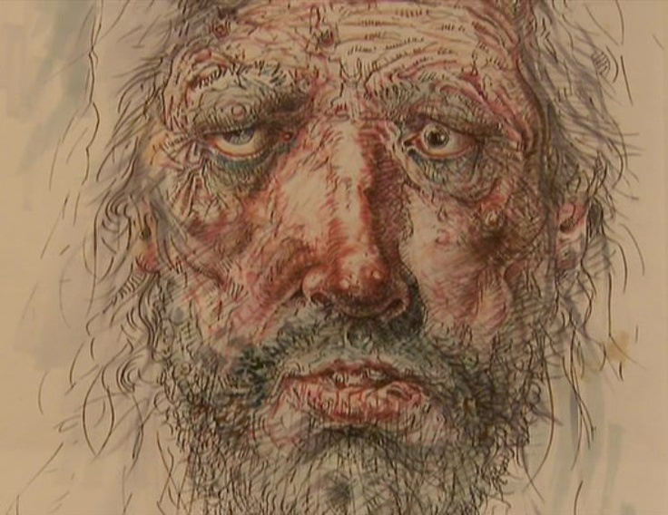 Peter Howson self portrait | Peter Howson | Peter howson ...