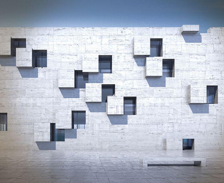Stone Facade | Philip Michael Brown Studio