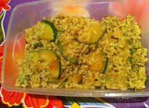 arroz verde  ( con calabacín)