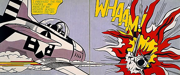"Roy Lichenstein ""Whaam!"" - 1963"