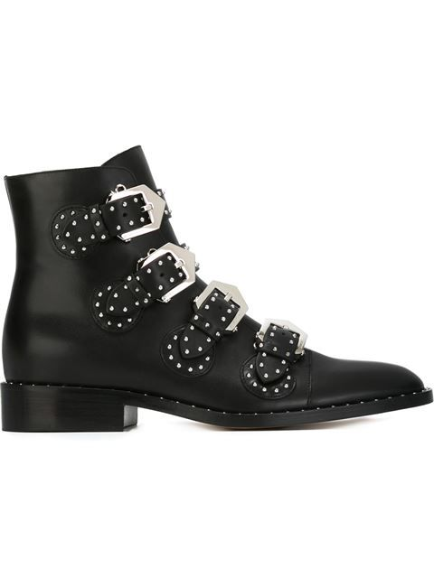 Shop Givenchy buckled ankle boots in Luisa World from the world's best independent boutiques at farfetch.com. Shop 400 boutiques at one address.