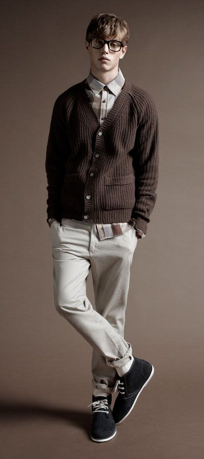 <3 if only straight guys had this much fashion sense. :(