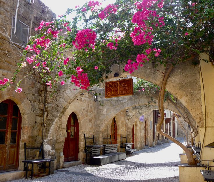 Rhodes, Greece - left a part of my heart on this beautiful island