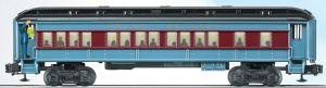 Lionel 6-36875 O Polar Express Coach w/Announcement