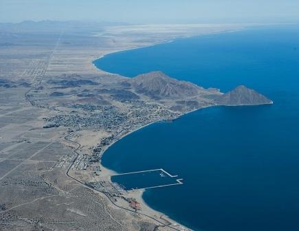 Nice shot of San Felipe and the Marina