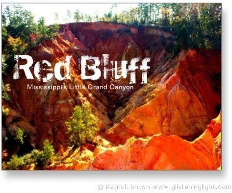 red bluff @www.glisteninglight.com