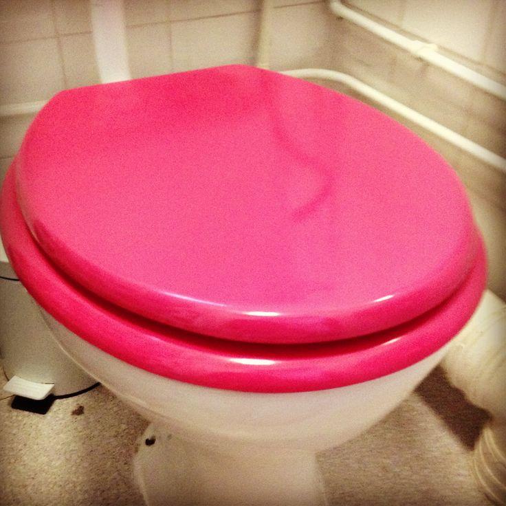 Pink Toilet Seat
