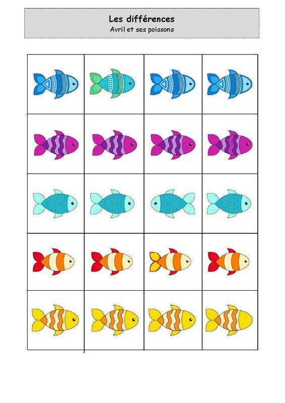 http://nounoulolo88.centerblog.net/ Avril et ses poissons