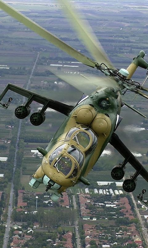 Military Mil Mi-24 Military Helicopters