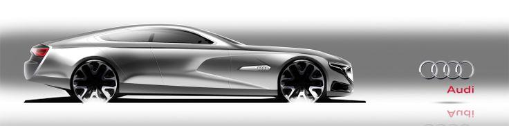 Gregor Duler Audi Side Sketch Pinterest Sketches