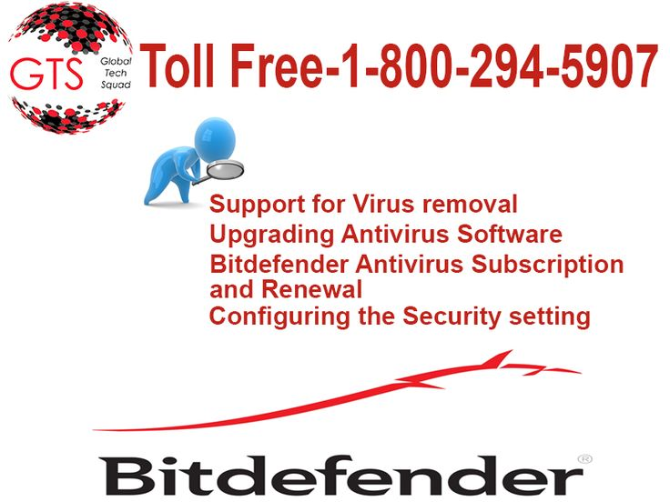 Support For Bitdefender Antivirus By Globaltech Squad Team