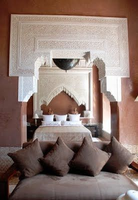 Indian bedroom. i just love this