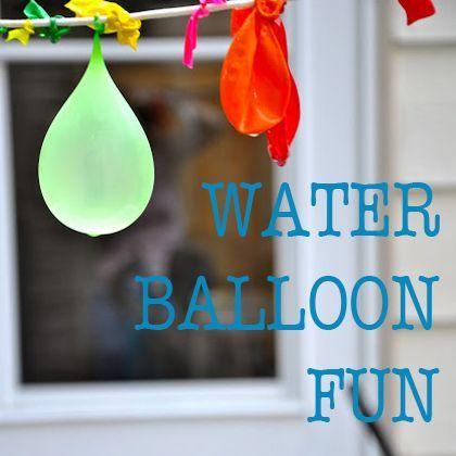 Water Balloon Fun