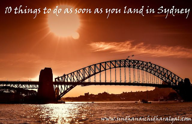 10 things to do as soon as u migrate into sydney #sydney #photogarphy #travel #aroundtheworld #world #traveldairies #vacation