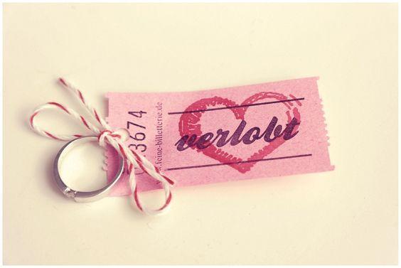 engaged #verlobung #ticket #ring