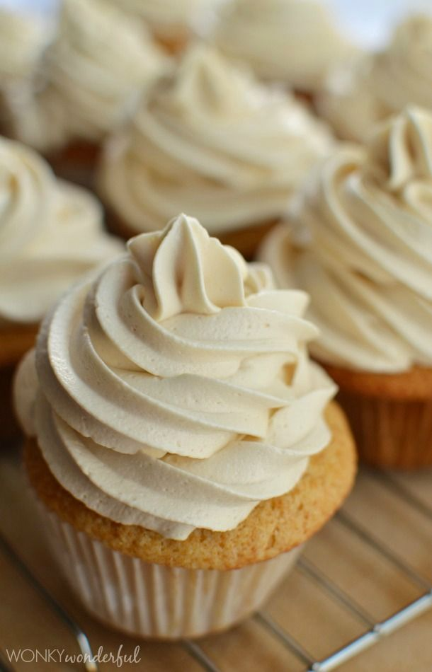This is the best one I have found- DL Easy Buttercream Frosting Recipe - Maple - Icing Recipe - wonkywonderful.com (This was EXCELLENT!  Need a recipe and a half next time for 24 cupcakes. ~DL)