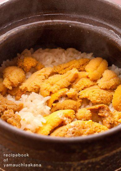 うにご飯レシピ(土鍋で炊き込むウニの炊き込みご飯)
