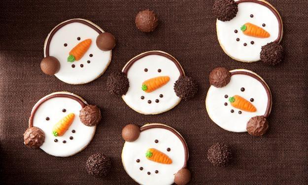 Schneemann-Kekse » Sanella