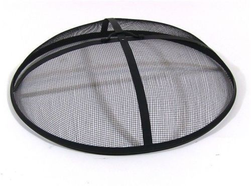 Fire Pit Screen Spark Round Cover 9 Sizes Firepit Replacement Outdoor Campfire