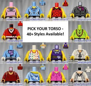 LEGO - Torsos CITY Female - PICK YOUR STYLE - Minifigure Body Parts Dress Skirt  | eBay