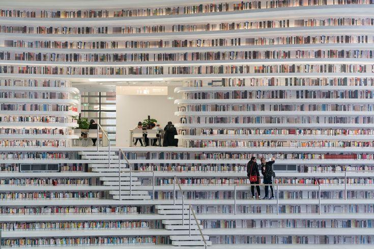 Gallery of Tianjin Binhai Library / MVRDV + Tianjin Urban Planning and Design Institute - 5