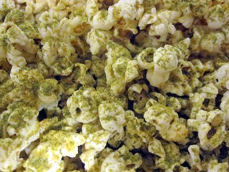 "St. Patrick's Day is all about celebrating the color green. Not just in what you wear but also in what you eat. The following green popcorn recipe is unlike typical artificially green party food fare recipes. Instead, it is a superfood recipe that brings together the detox capabilities of kale and the ""cheesy"" flavor of vitamin B12-rich nutritional yeast to make for a delicious green popcorn snack you can actually call a health food. Enjoy…"