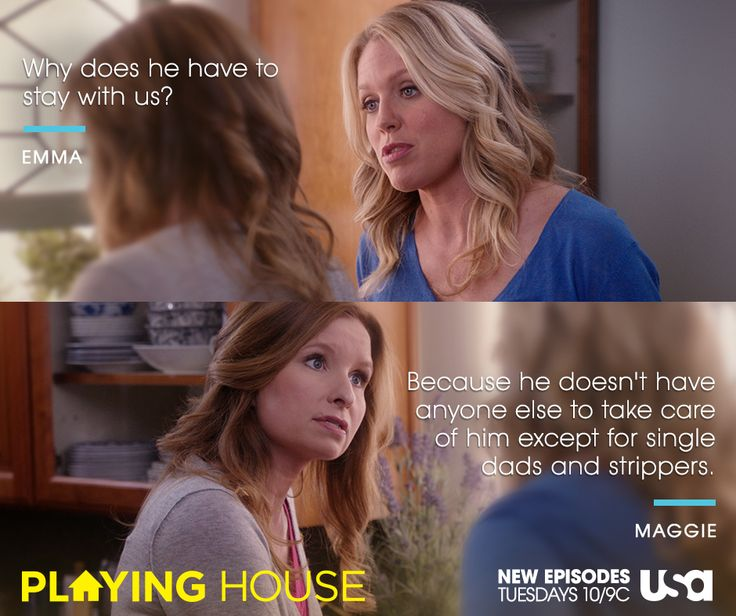 UGH. Sometimes being a good friend is hard.   Watch tomorrow's all-new episode of Playing House at 10/9c on USA.