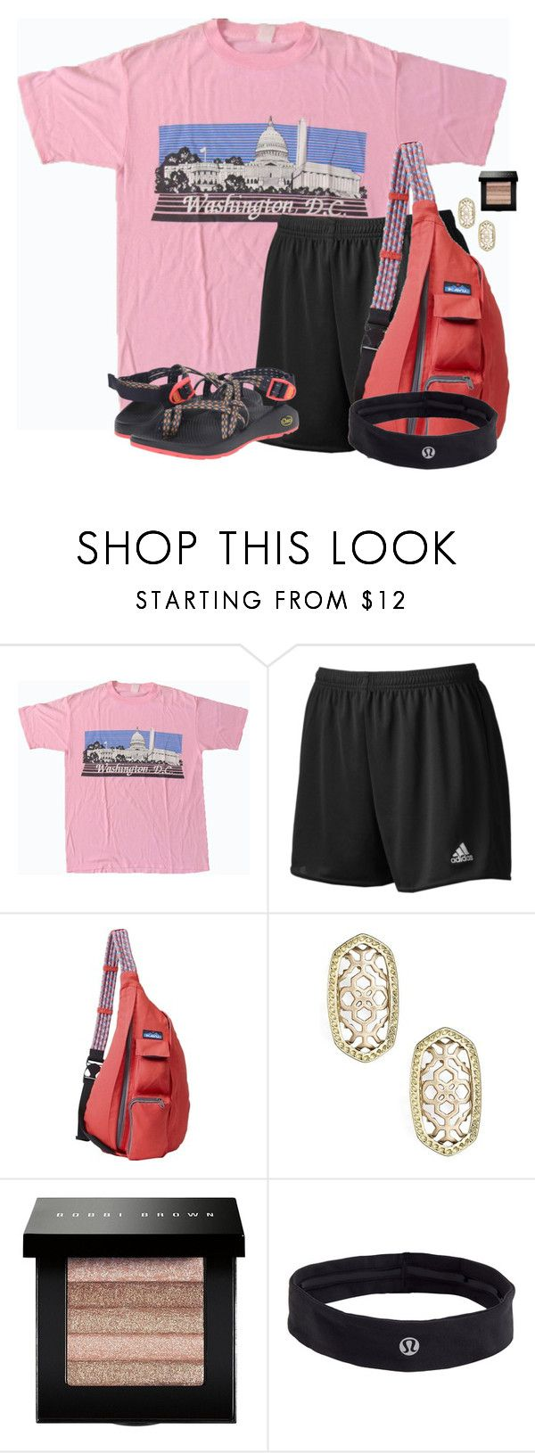 """3 months until Summer Camp!!! So excited!!"" by flroasburn ❤ liked on Polyvore featuring adidas, Kavu, Kendra Scott, Bobbi Brown Cosmetics, lululemon and Chaco"