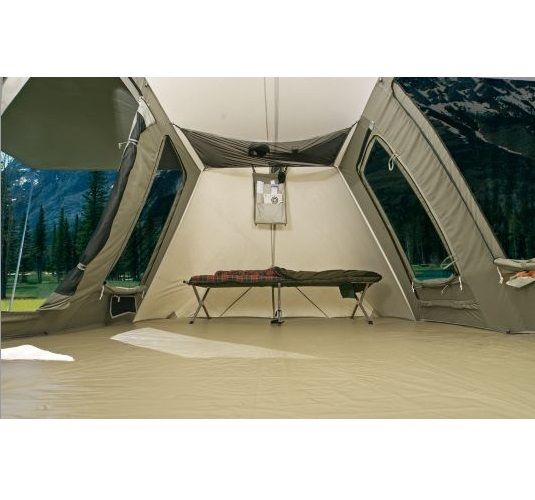 Kodiak Canvas Tent With Tarp 10x10 Ft Deluxe 6010 Amp 0510