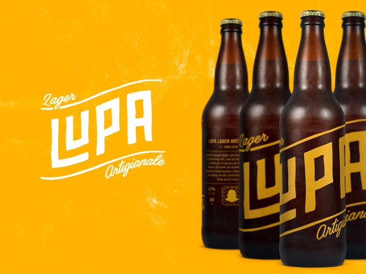 LUPA - Beer Branding by Gian Marco Maurizi
