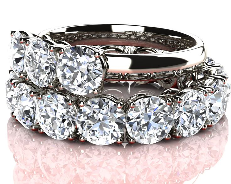 Diamond Eternity Gold Rings More at: http://paul-jewellery.com/eternity-diamond-rings